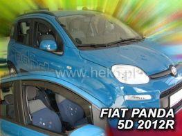 Ветровики FIAT Panda III (2012-) 5D HEKO