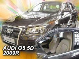 Ветровики AUDI Q5 8R (08-16) - Heko (вставные)
