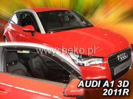 Ветровики AUDI A1 (2010-) 3D HEKO