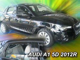 Ветровики AUDI A1 (2011-) 5D Sportback HEKO