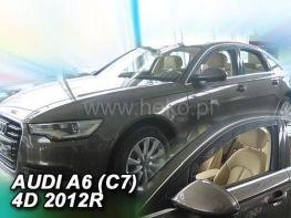 Ветровики AUDI A6 C7 / S6 (2011-) Sedan HEKO