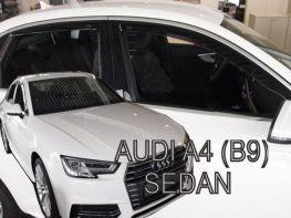 Дефлекторы окон AUDI A4 B9 (16-) Sedan - Heko (вставные)