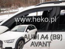 Ветровики AUDI A4 B9 (2016-) Avant / Allroad HEKO