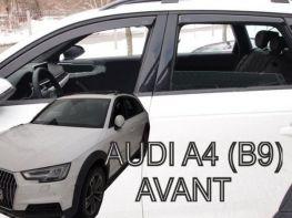 Ветровики AUDI A4 B9 (16-) Avant / Allroad - Heko (вставные)