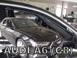 Дефлекторы окон AUDI A6 C8 (18-) Sedan - Heko (вставные)