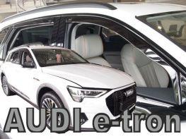 Ветровики Audi e-tron (19-) - Heko (вставные)