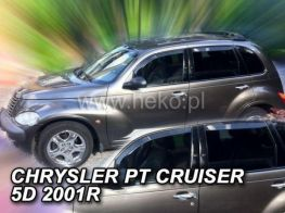 Ветровики CHRYSLER PT Cruiser (00-10) 5D - HEKO
