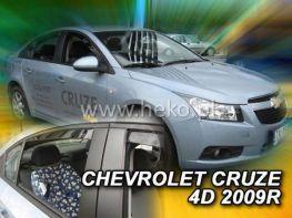 Ветровики CHEVROLET Cruze (2009-) Sedan HEKO