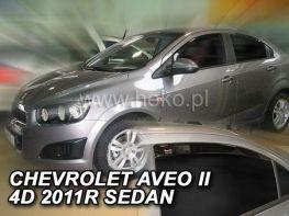 Ветровики CHEVROLET Aveo T300 (2011-) Sd - HEKO