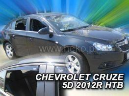 Ветровики CHEVROLET Cruze (2011-) Hatchback HEKO