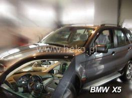 Дефлекторы окон BMW X5 E53 (2000-2006) - HEKO