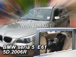 Ветровики BMW 5 E61 (2003-2010) Touring HEKO