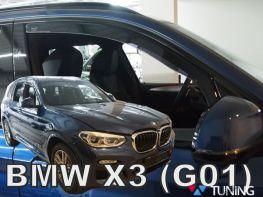 Дефлекторы окон BMW X3 G01 (18-) - HEKO