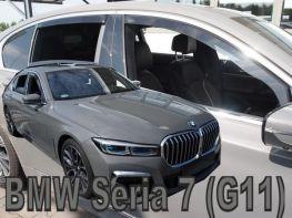 Ветровики BMW 7 G11 (15-) - Heko (вставные)