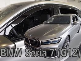 Ветровики BMW 7 G12 (15-) - Heko (вставные)