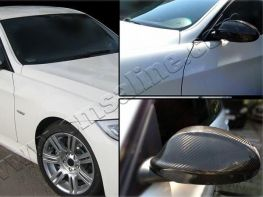 Карбон накладки на зеркала BMW 3 E90 (05-08)