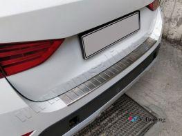Хром накладка на задний бампер BMW X1 E84 (09-15) - OMSA