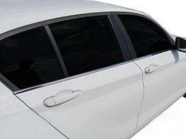 Хром нижняя окантовка стёкол BMW 1 F20 (2011-)