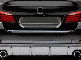 Хром накладка на кромку багажника BMW 3 F30 (2012-)