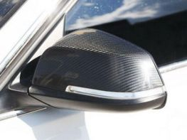 Карбоновые накладки на зеркала BMW X1 E84 (2009-)