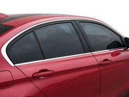 Хром окантовка стёкол BMW 3 F30 (2012-) Sedan