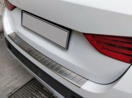 Накладка на задний бампер BMW X1 F48 (16-) - Omsa