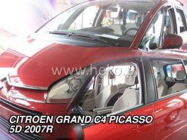 Ветровики CITROEN C4 Grand Picasso Mk1 (07-13) 5D HEKO