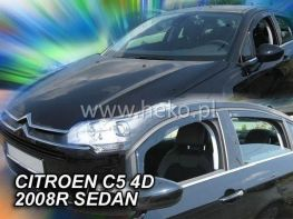 Ветровики CITROEN C5 II (2008-) Sedan HEKO