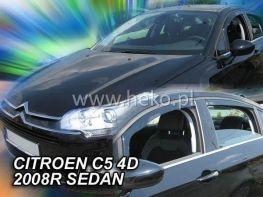 Ветровики CITROEN C5 II (2008-) Sedan HEKO