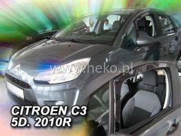 Ветровики Citroen C3 II (2010-) 5D HEKO