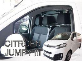 Ветровики CITROEN Jumpy III (17-) - Heko (вставные)