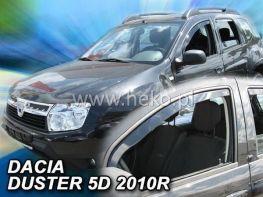 Ветровики DACIA Duster (10-17) - Heko (вставные)