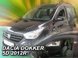 Ветровики DACIA Dokker (2012-2018) - HEKO