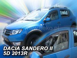 Ветровики DACIA Sandero II (13-) - HEKO