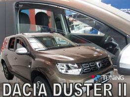 Ветровики DACIA Duster II (18-) - Heko (вставные)