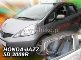 Ветровики HONDA Jazz II (2008-) 5D HEKO