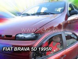 Ветровики FIAT Brava (1995-2001) 5D HEKO