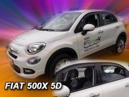 Ветровики FIAT 500X (15-) - Heko (вставные)