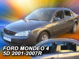Ветровики FORD Mondeo Mk3 (00-07) Sd/Hb - Heko (вставные)
