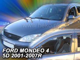 Ветровики FORD Mondeo Mk3 (00-07) Combi - Heko (вставные)