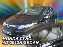 Ветровики HONDA Civic IX (2012-) Sedan HEKO