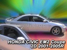 Ветровики HONDA Civic EM2 (2001-2005) Coupe HEKO