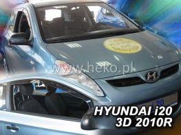 Ветровики HYUNDAI i20 (2009-2014) 3D HEKO