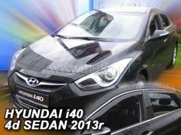 Ветровики HYUNDAI i40 (2011-) Sedan HEKO