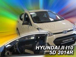 Ветровики HYUNDAI i10 II (2013-) HEKO