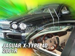 Ветровики JAGUAR X-Type (01-09) Sedan - HEKO