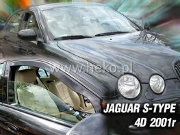 Ветровики JAGUAR S-Type (01-07) Sedan - HEKO