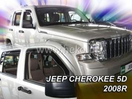 Ветровики JEEP Commander (2006-) 5D HEKO
