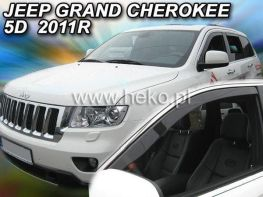 Ветровики JEEP Grand Cherokee WK2 (2011-) 5D HEKO
