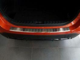 Накладка заднего бампера (сталь, Польша) BMW X1 E84 (2009-2012)